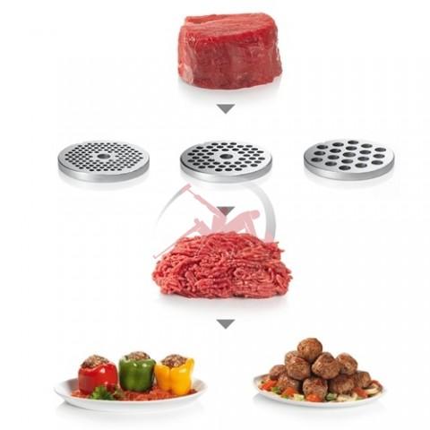 Набор (3шт.) перфорированных шайб 00629852 MUZ9FW1 для мясорубки Бош Bosch