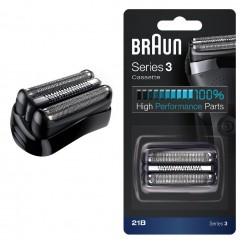 Оригинальная сетка 21B=32B для бритвы Braun Series 3 NEW 81570020 (в комплекте с режущим блоком)