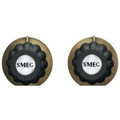 Комплект из двух ручек MMC745AO для кофемашины Смег Smeg