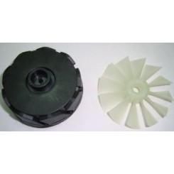 Муфта-соединение с крыльчаткой вентилятора для соковыжималки 00425930=00625723 Бош Bosch