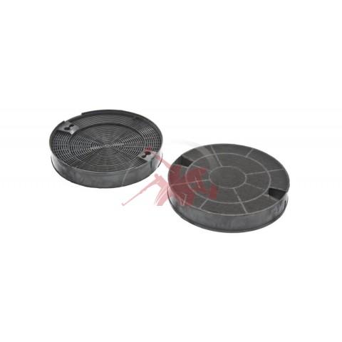 Фильтр угольный круглый (2шт) для вытяжки 00653729 Бош Bosch