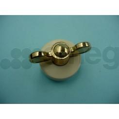 Ручка 694972494 крем-позолота COLONIALE для варочных поверхностей SMEG с фронтальным управлением