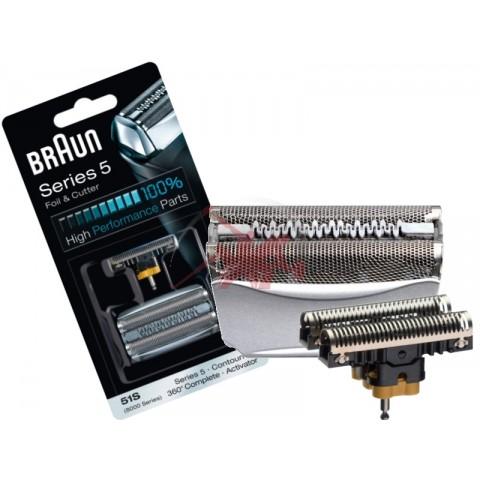 "Сетка и режущий блок для бритв Braun 51S (Series 5) ""8000 Series"" (Activator, ContourPro, 360° Complete) 81626279/ 81387975"