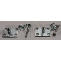 Комплект для навески мебельного фасада 697450345 посудомоечной машины SMEG