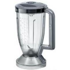 Стакан блендера в сборе серый для кухонного комбайна 00743882 Бош Bosch