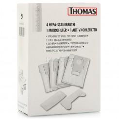 Набор НЕРА-мешков (4шт) для пыли с фильтрами к пылесосу HYGIENE-BAG-SYSTEM Томас Thomas 787230