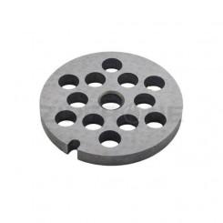 Решетка крупная для мясорубки №5 (8мм) 10003878= 00755468=12008130 Бош Bosch Зелмер Zelmer