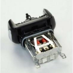 Бреющая часть, головка, двигатель 81445016 с рабочей головкой Braun. Цвет-черный.