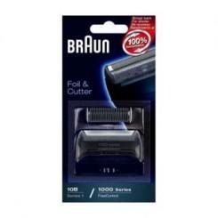 Сетка и режущий блок к бритве 10B/20B /Series 1/ FreeControl/1000/2000 Series/Cruzer/ Cruzer face BRAUN Браун 81387932/ 65729761/ 81253241, черная