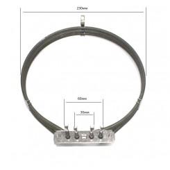 Нагреваетльный элемент 806890618  для электрического духового шкафа SMEG ALFA143/ 420/ 425